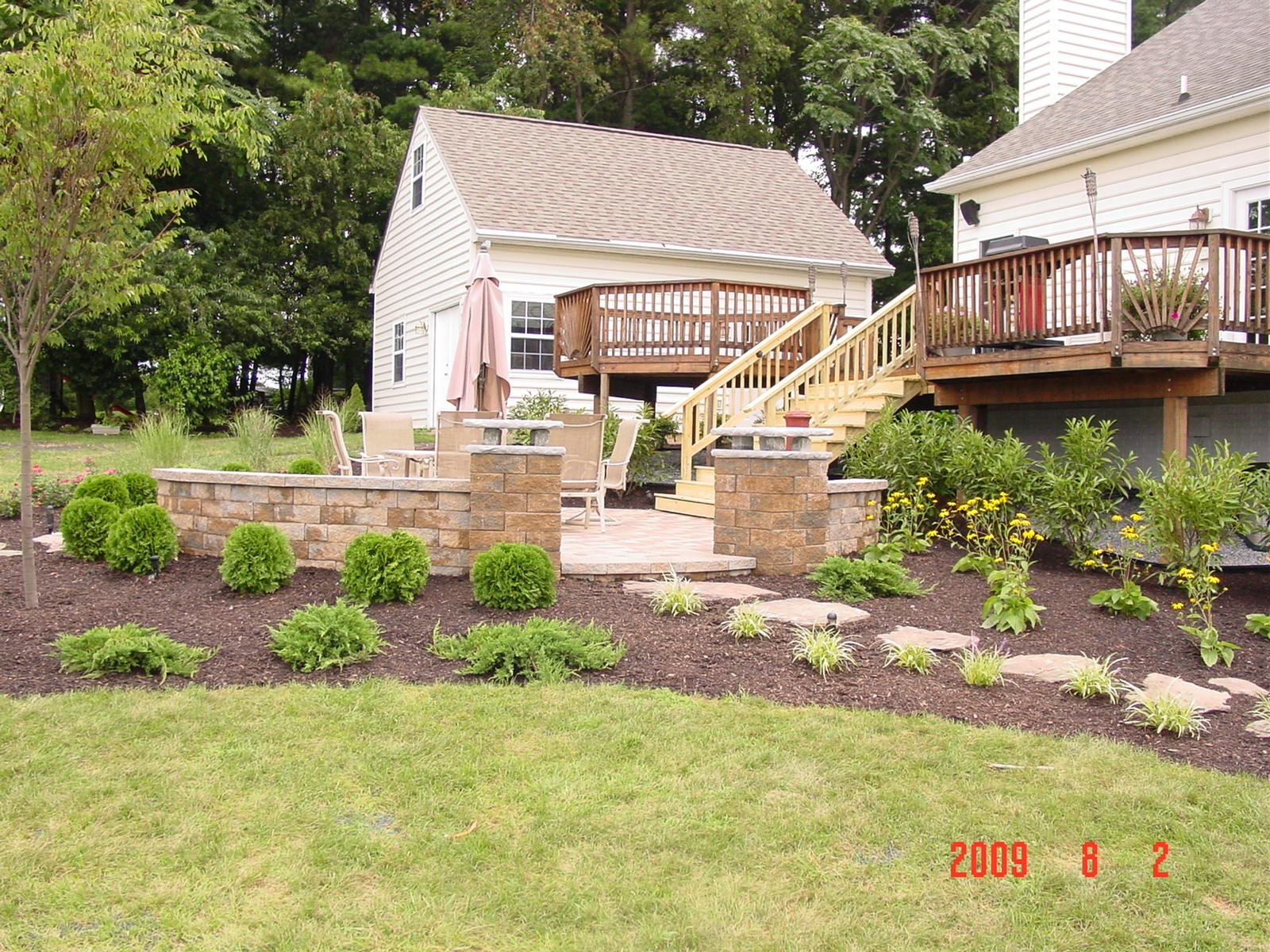 Landscape hardscape design build west friendship md for Landscape design build