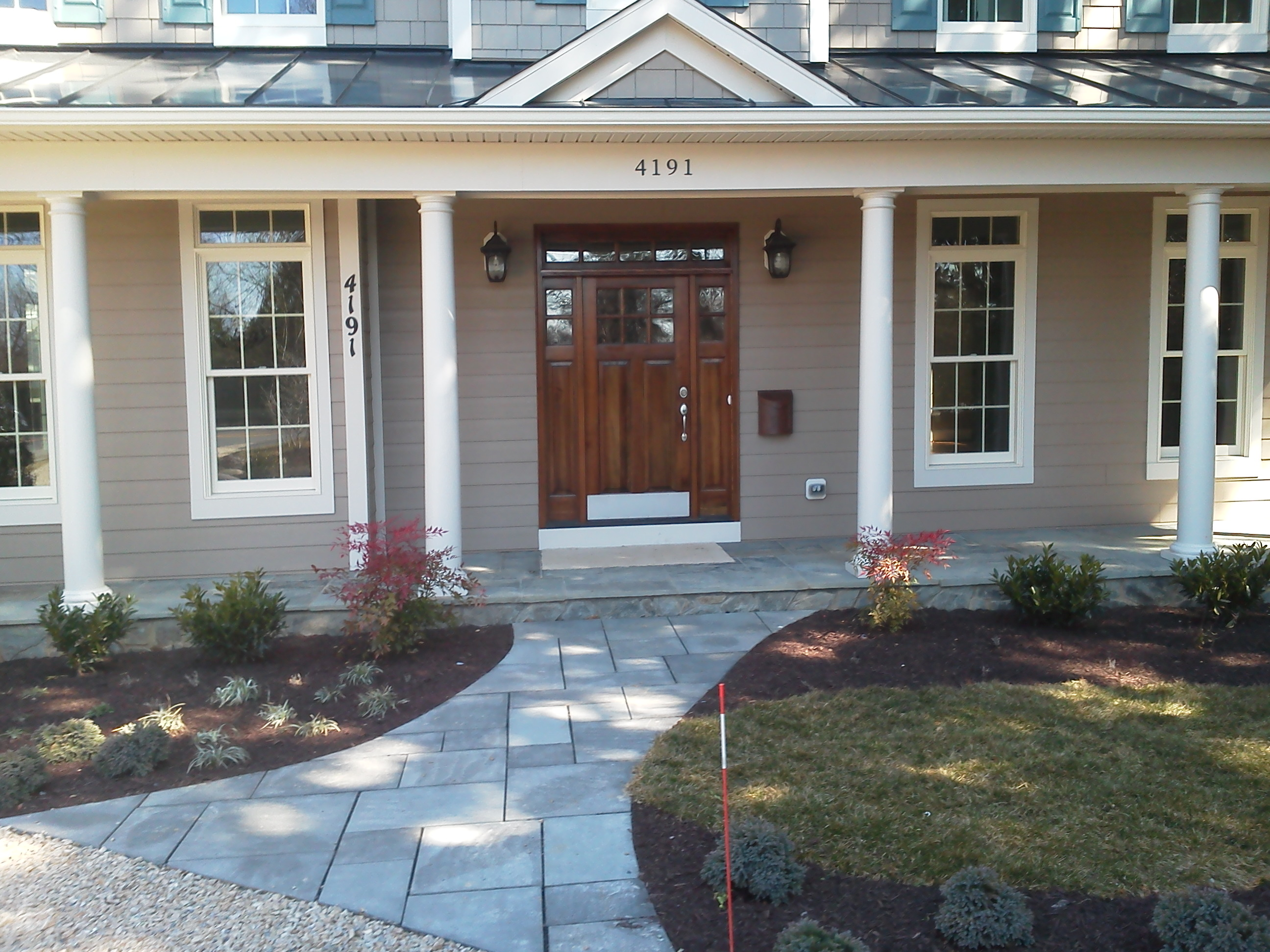 New Home Landscape Package – Chevy Chase, MD